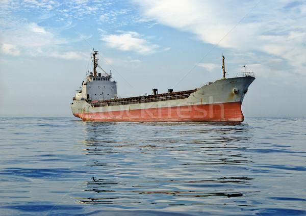 cargo ship at sea Stock photo © papa1266
