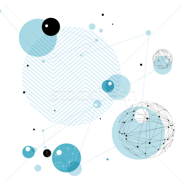 Abstract Technology Background. Good for financial annual cover  Stock photo © pashabo