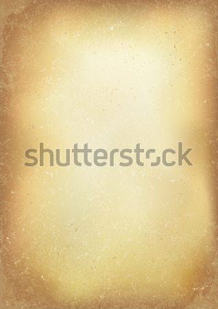 Vintage oude bruin realistisch papier vector Stockfoto © pashabo
