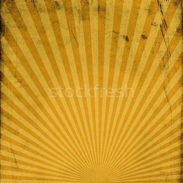 Grunge sunburst background Stock photo © pashabo