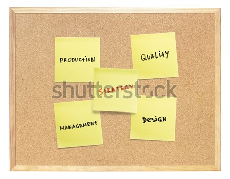 図 ビジネス 成功 コルクボード 孤立した ストックフォト © pashabo