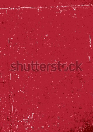 Red grunge background. Blank aged red paper background, vertical Stock photo © pashabo