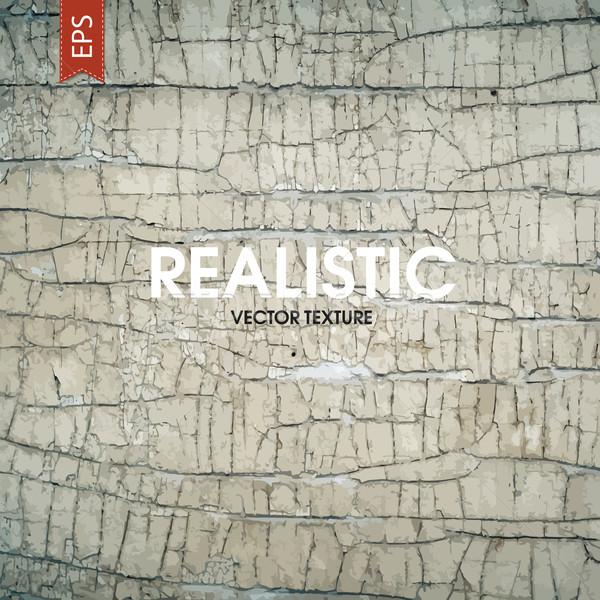 öreg repedt festék fából készült fal absztrakt Stock fotó © pashabo