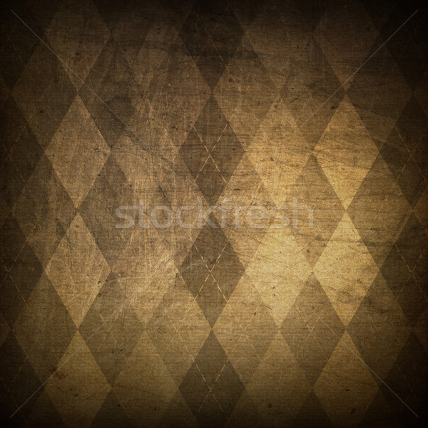 Classic argyle grunge background Stock photo © pashabo