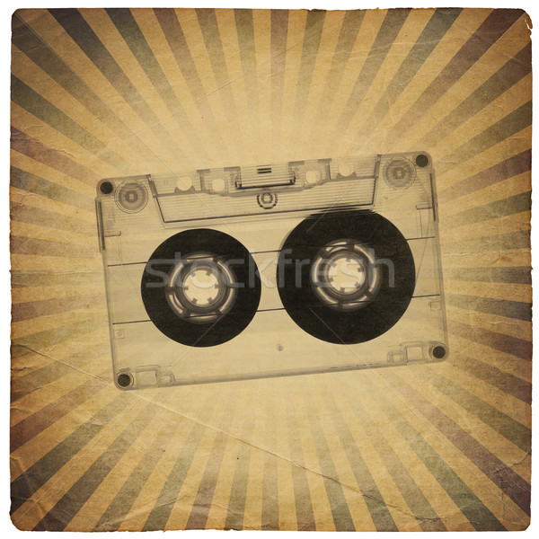 Vintage music abstract background Stock photo © pashabo