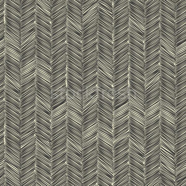 Dark scribble seamless pattern. Vector Stock photo © pashabo