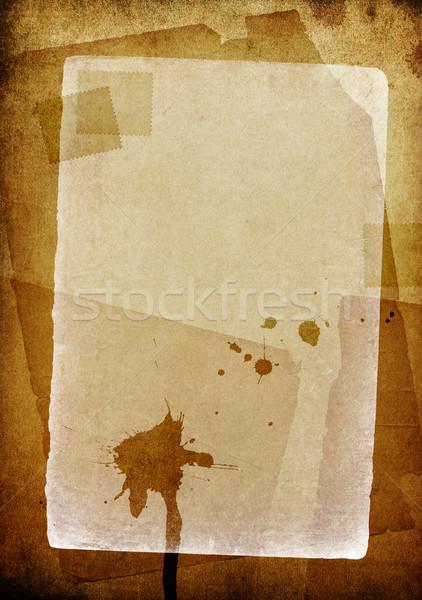 Grunge vintage espaço texto útil projeto Foto stock © pashabo