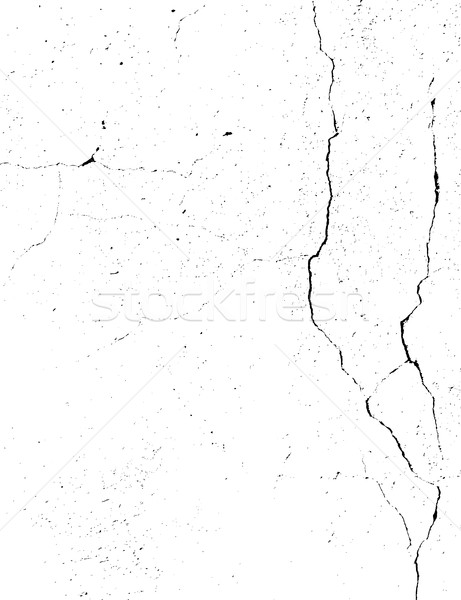 Concrete wall with cracks. Grunge monochrome background. Abstrac Stock photo © pashabo