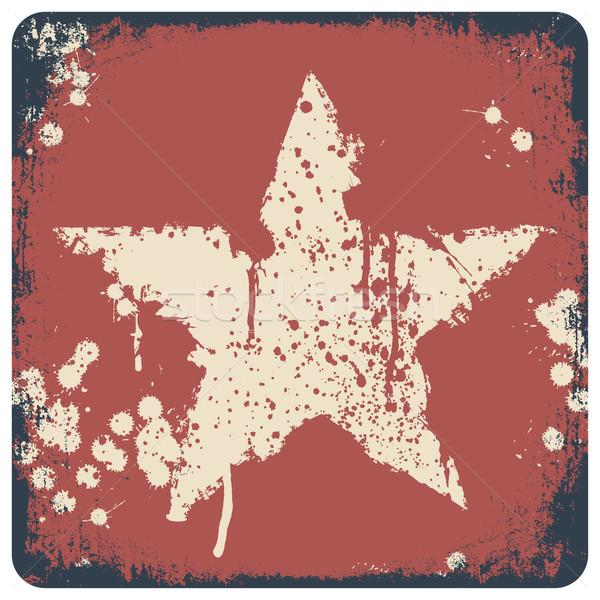 кинопленка Гранж кадр красочный бесшовный Сток-фото © pashabo