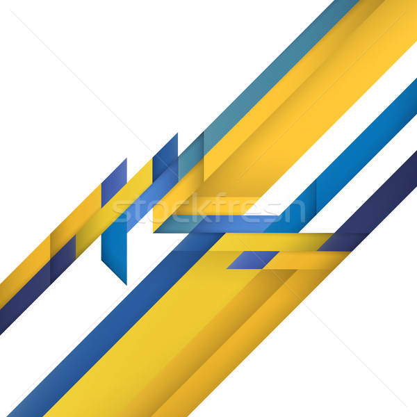 Color geometry. Abstract modern abstract colorful background Stock photo © pashabo