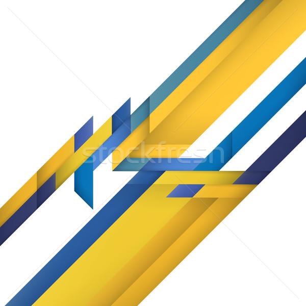 Kleur geometrie abstract moderne kleurrijk textuur Stockfoto © pashabo