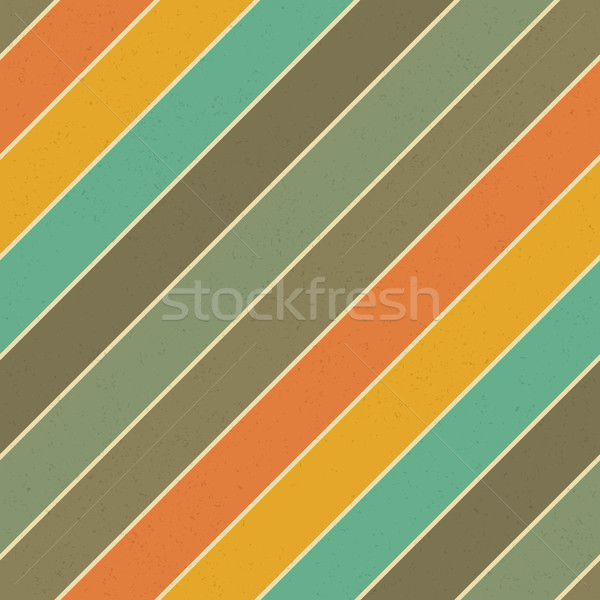 Retro colors diagonal lines background. Abstract vintage seamles Stock photo © pashabo
