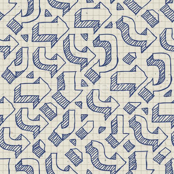 紙 練習帳 ペン 手紙 ストックフォト © pashabo
