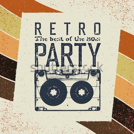 Reggae vetor projeto mão fundo arte Foto stock © pashabo