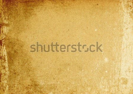 Vintage brown stained background (A4 format, horizontal orientat Stock photo © pashabo