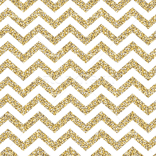 Chevron seamless pattern. Glittering golden surface Stock photo © pashabo