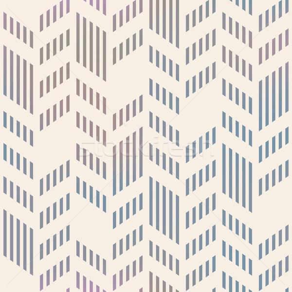 Foto stock: Abstrato · sem · costura · geométrico · vetor · padrão