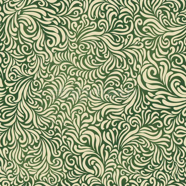 Green abstract fantasy pattern. Contain mesh background, vector, Stock photo © pashabo