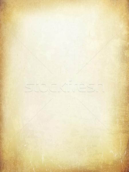 Grunge vintage papel viejo vector textura fondo Foto stock © pashabo