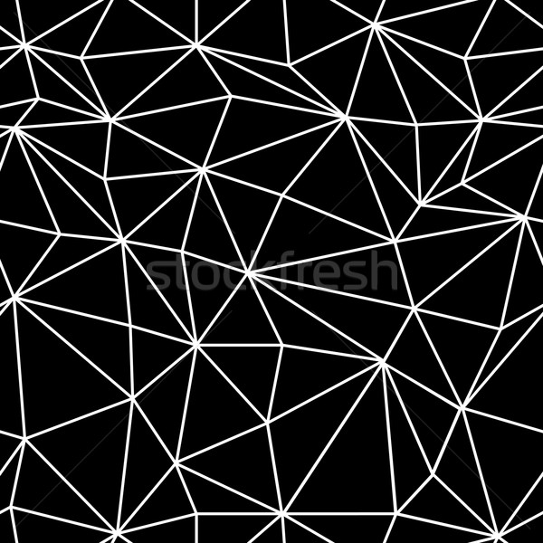Wireframe abstract oppervlak ontwerp patroon Stockfoto © pashabo