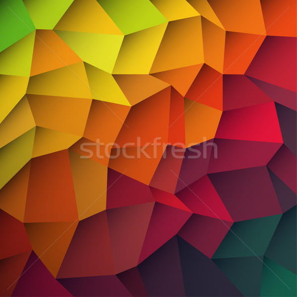 Abstract colorful patches background. Vector, EPS10 Stock photo © pashabo