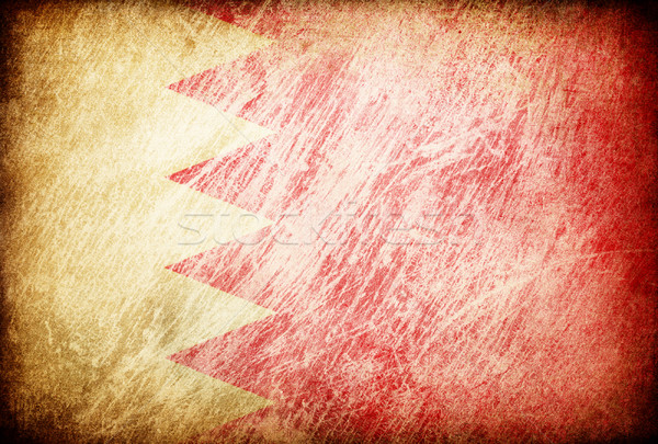 Grunge bandeira fundos Bahrein textura digital Foto stock © pashabo