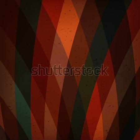 Stock fotó: Színes · sugarak · absztrakt · vektor · eps10 · fény