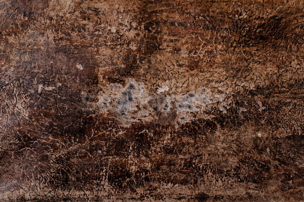 Old scratched leather texture Stock photo © pashabo