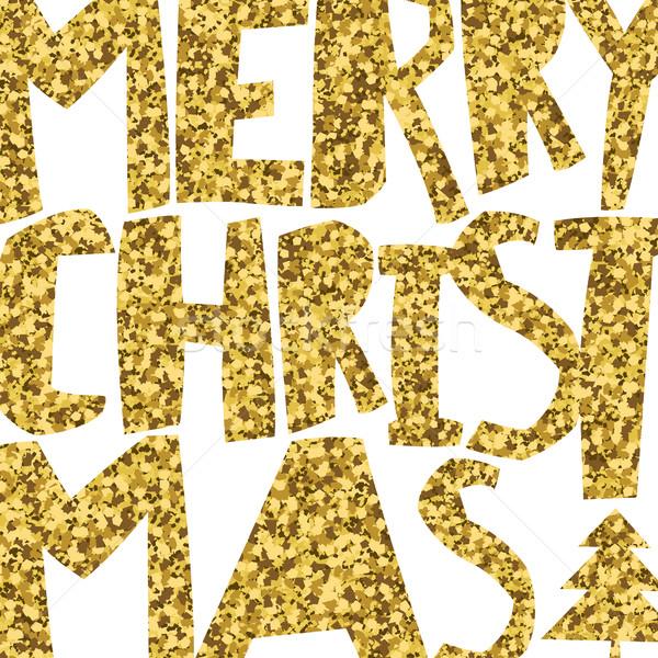 Сток-фото: счастливым · веселый · Рождества · свет