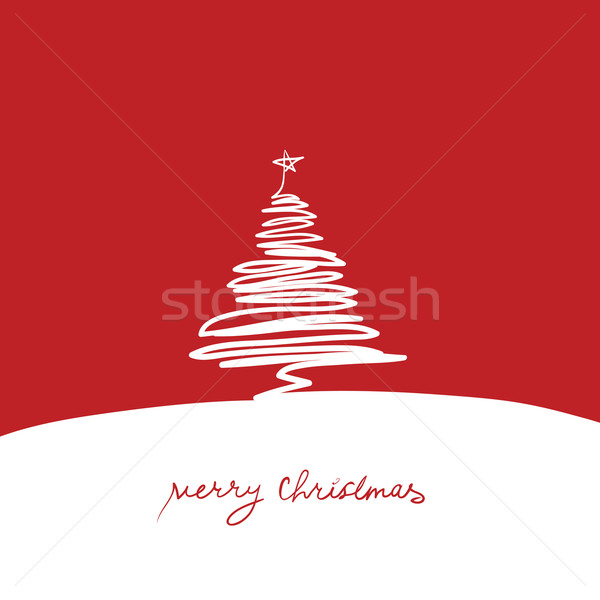 Christmas tree Stock photo © pashabo