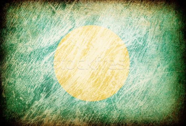 グランジ フラグ 背景 パラオ テクスチャ デジタル ストックフォト © pashabo