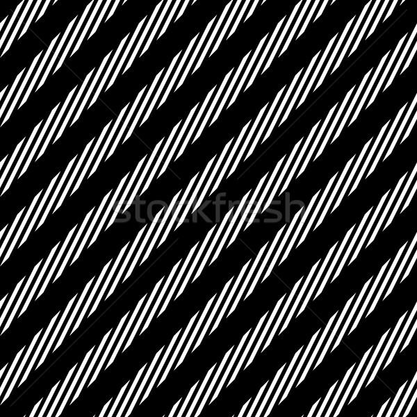 диагональ линия черно белые аннотация геометрический Сток-фото © pashabo