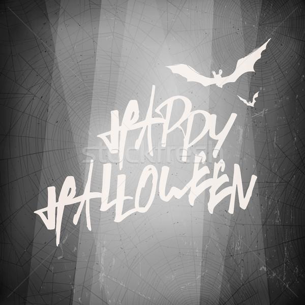 Halloween modèle de conception carte résumé film fond Photo stock © pashabo