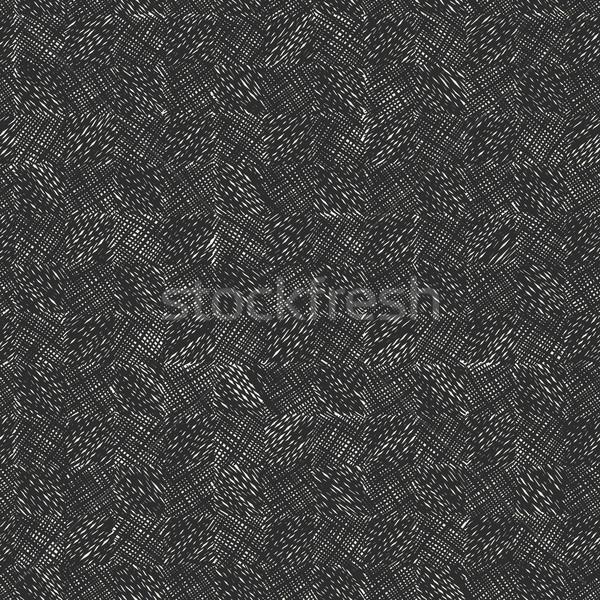 Dark scribble seamless pattern Stock photo © pashabo