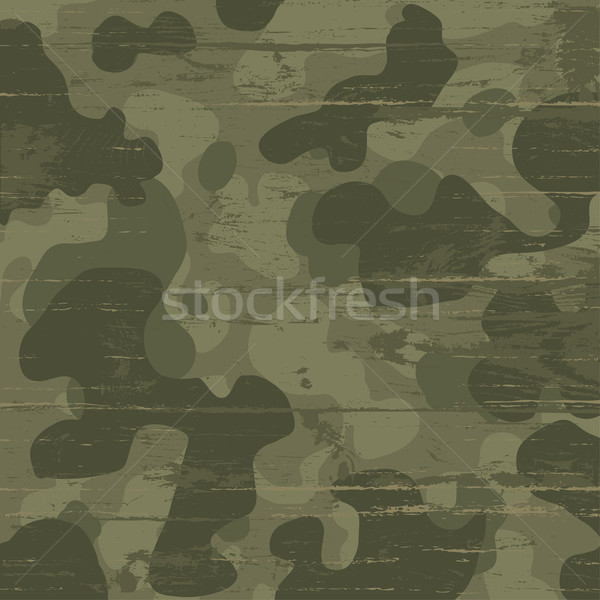 Camouflage military background. Vector illustration, EPS10 Stock photo © pashabo