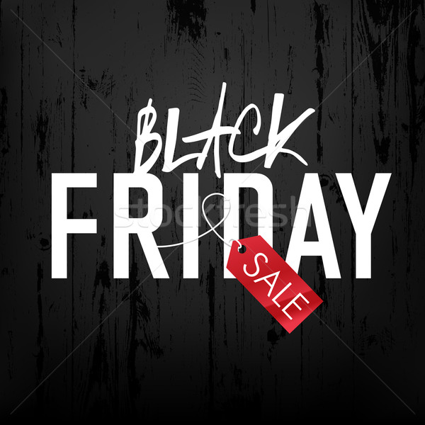 черная пятница продажи реклама плакат черный Сток-фото © pashabo