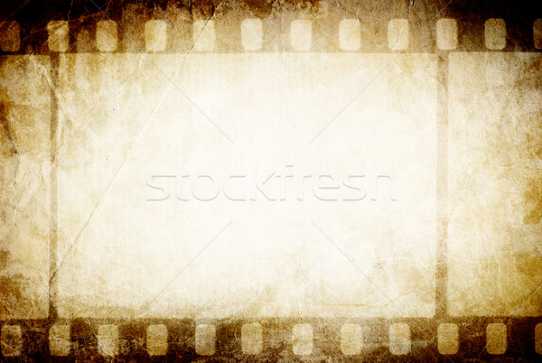 Old filmstrip. Classic vintage background. Stock photo © pashabo