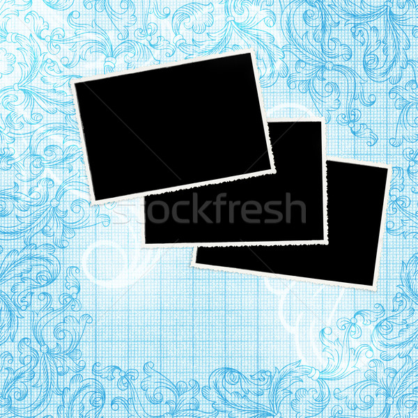 Vintage decorated background with space for text and images. Stock photo © pashabo