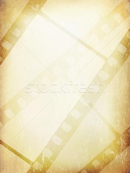 古い 映写スライド 抽象的な ベクトル テンプレート デザイン ストックフォト © pashabo