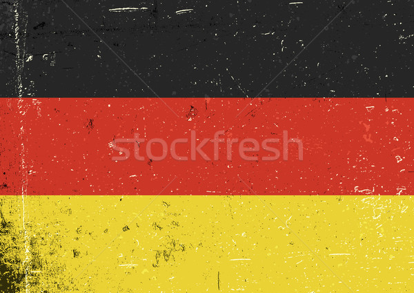 Germany grunge flag. Abstract Germany patriotic background. Vect Stock photo © pashabo