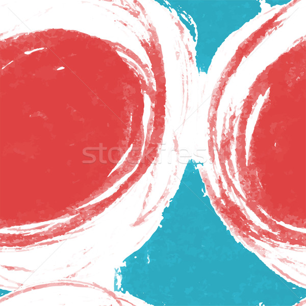 Seamless Abstract Pattern. Background with Brush Painted Colorfu Stock photo © pashabo
