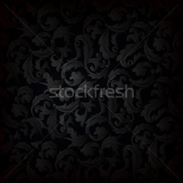 Dark retro wallpaper background Stock photo © pashabo