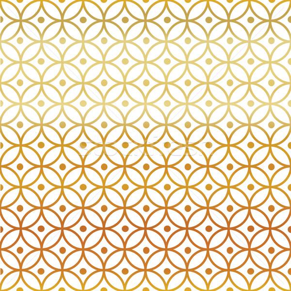 Senza soluzione di continuità disegno geometrico design sfondo wallpaper pattern Foto d'archivio © pashabo