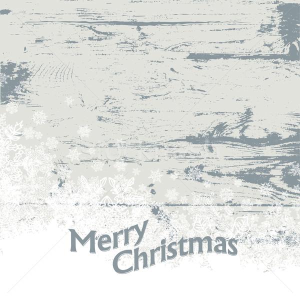Xmas vintage background. Vector illustration, EPS8 Stock photo © pashabo