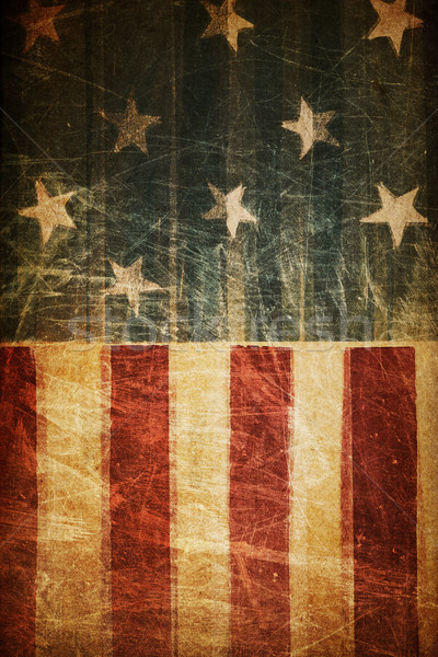Abstract american patriotic background (based on flag theme) Stock photo © pashabo