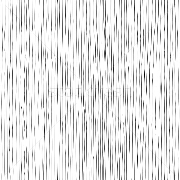 Seamless vertical lines hand-drawn pattern Stock photo © pashabo