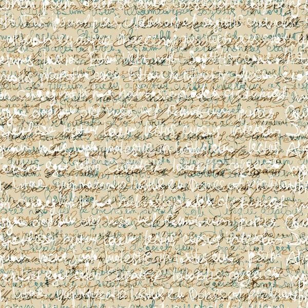 Senza soluzione di continuità abstract calligrafia pattern vettore eps10 Foto d'archivio © pashabo