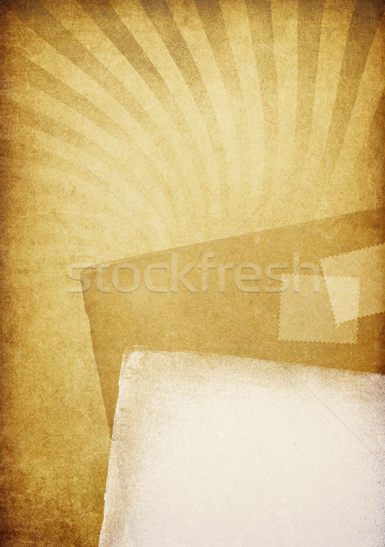 Old letters. Vintage abstract background. Stock photo © pashabo