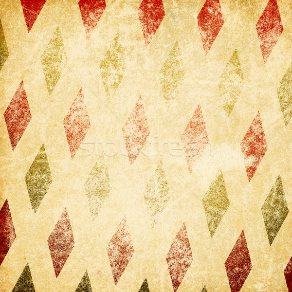 Vintage retro circus background. Isolated on white. Stock photo © pashabo