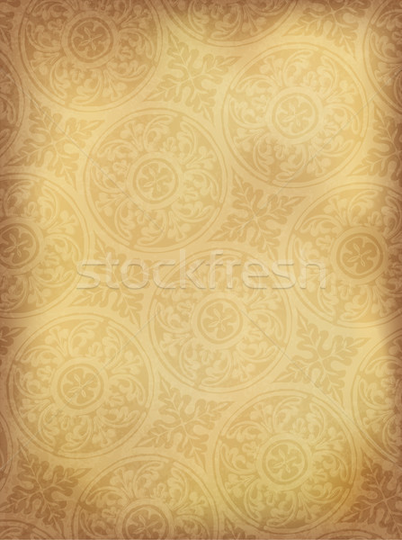Vintage ornamented background vertical. Vector, EPS10 Stock photo © pashabo
